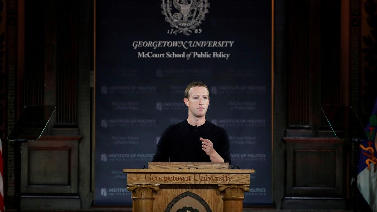 Марк Цукерберг выступил перед студентами