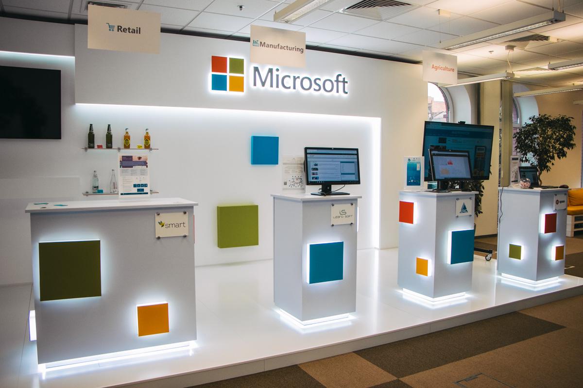 И напоследок еще одно фото из офиса Microsoft Україна в Киеве