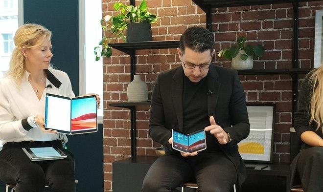 Панос Панай рассказал, каково это было создавать сгибающийся смартфон