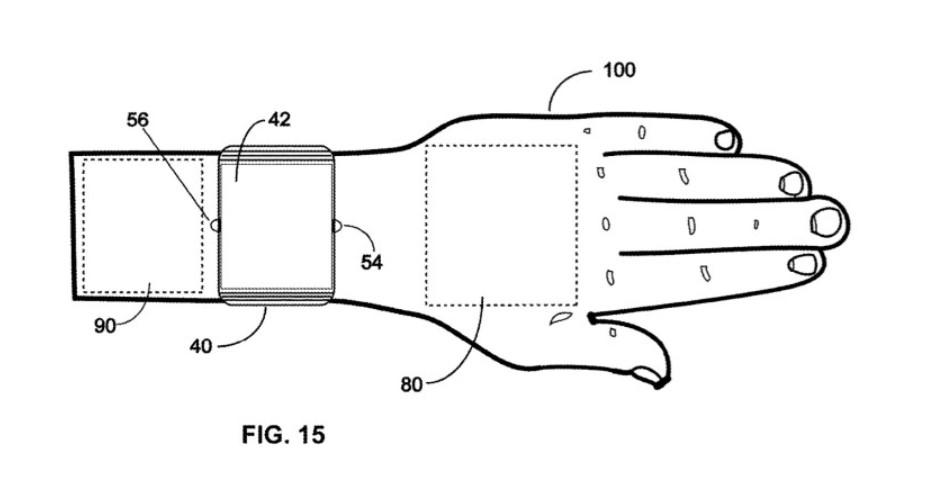 Компания Innoventions получила патент на виртуальный тачпад для умных часов