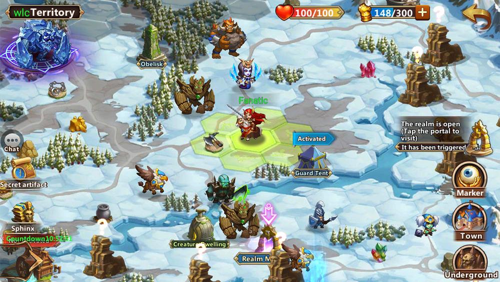Продолжение «Героев 3» вышло на Android и iOS