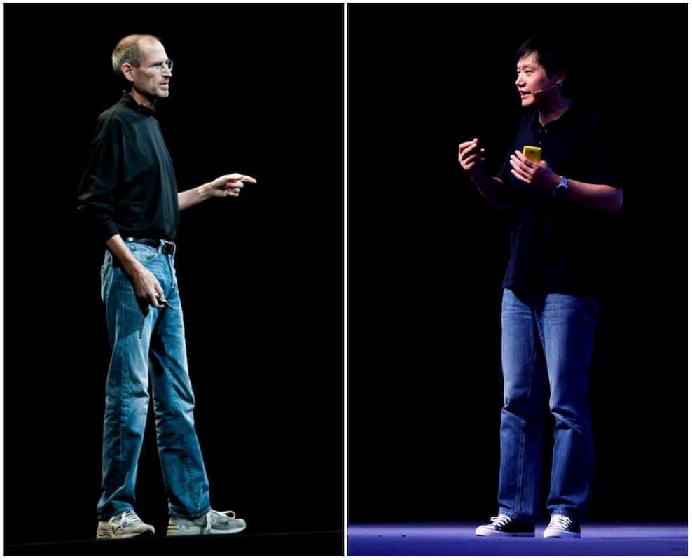 Лэй Цзюнь начал одеваться на презентации так же, как Стив Джобс