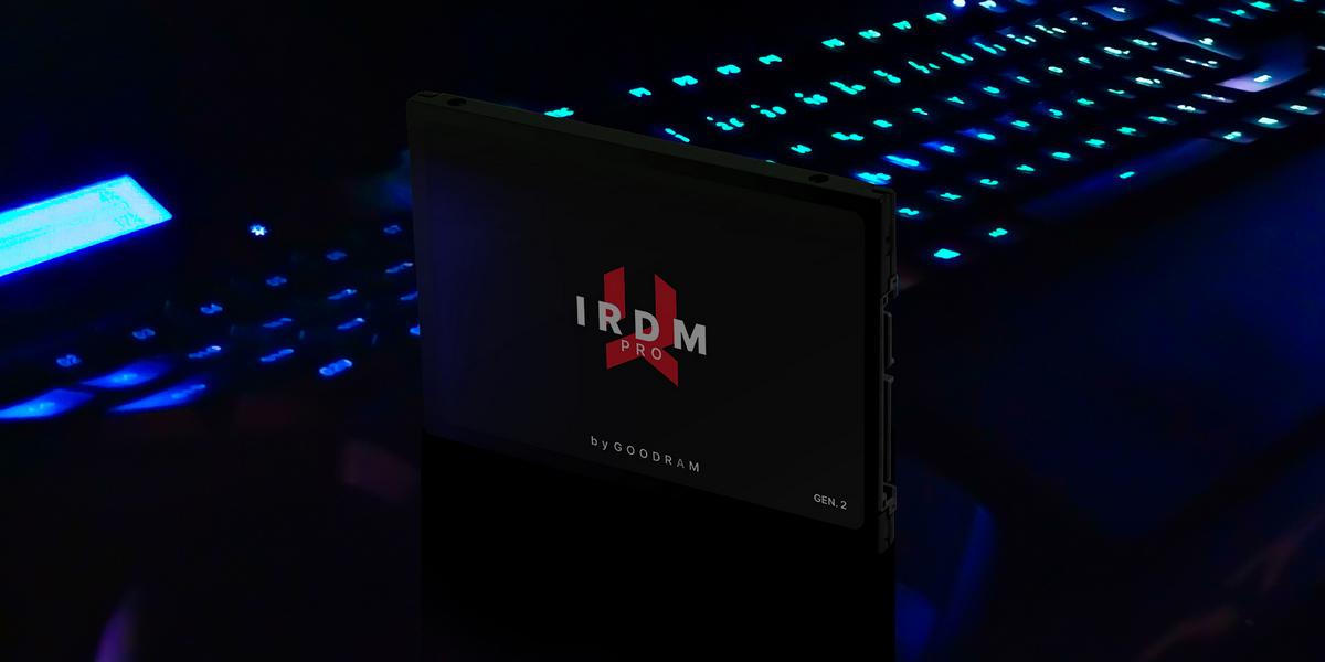 Высокоскоростной SSD IRDM PRO gen. 2 емкостью 1 ТБ уже в Украине