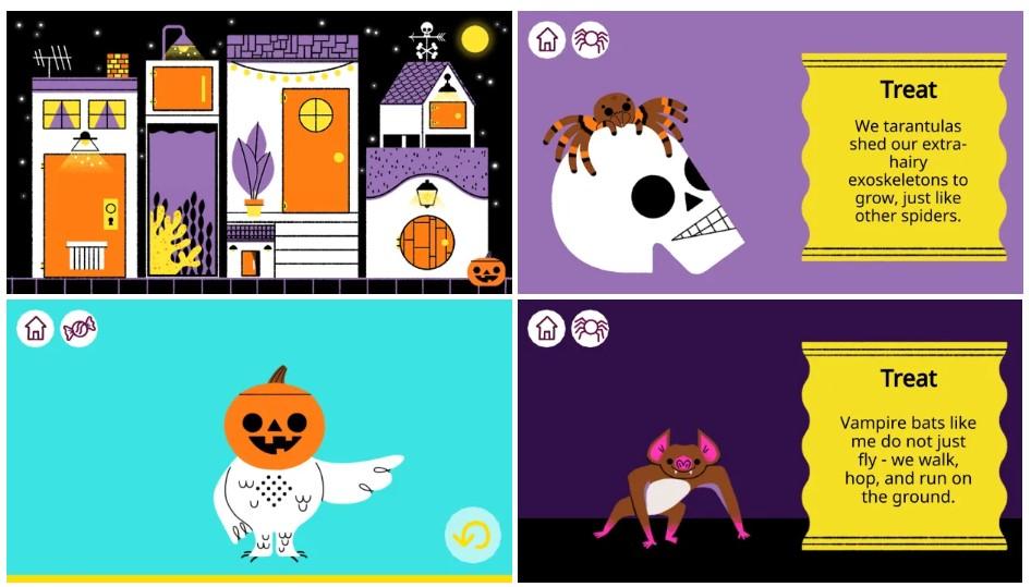Google посвятил новый дудл Хэллоуину