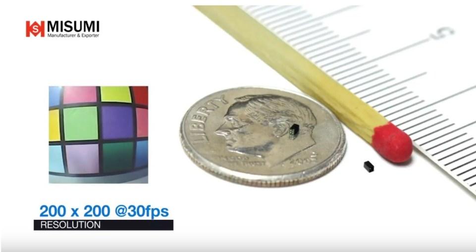 Самый маленький в мире сенсор изображения OmniVision OV6948 занесли в Книгу рекордов Гиннеса