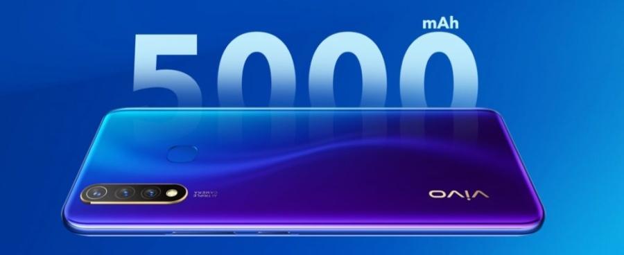 Смартфон поставляется с несъемной батареей 5000 мАч