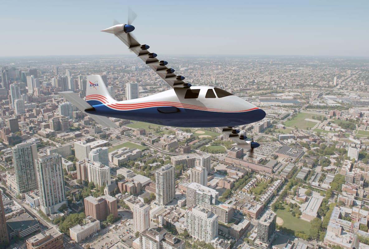 NASA представила свой первый полностью электрический самолет X-57 Maxwell