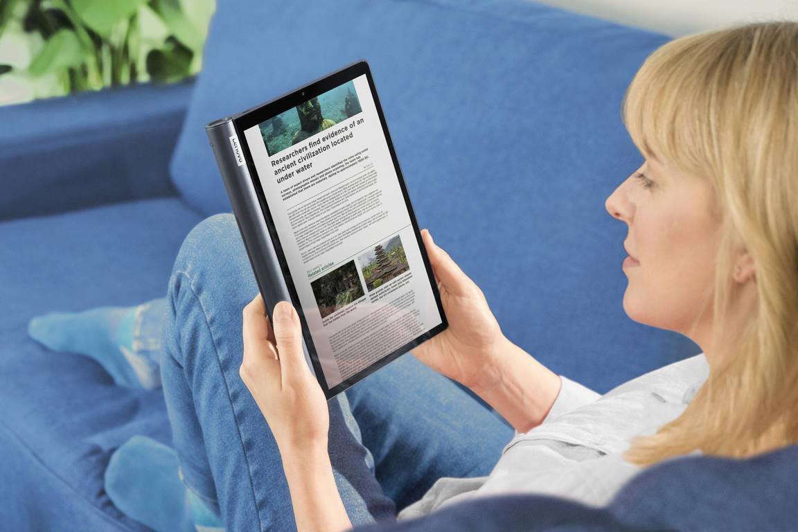 Планшет Lenovo YOGA Smart Tab теперь можно купить в Украине