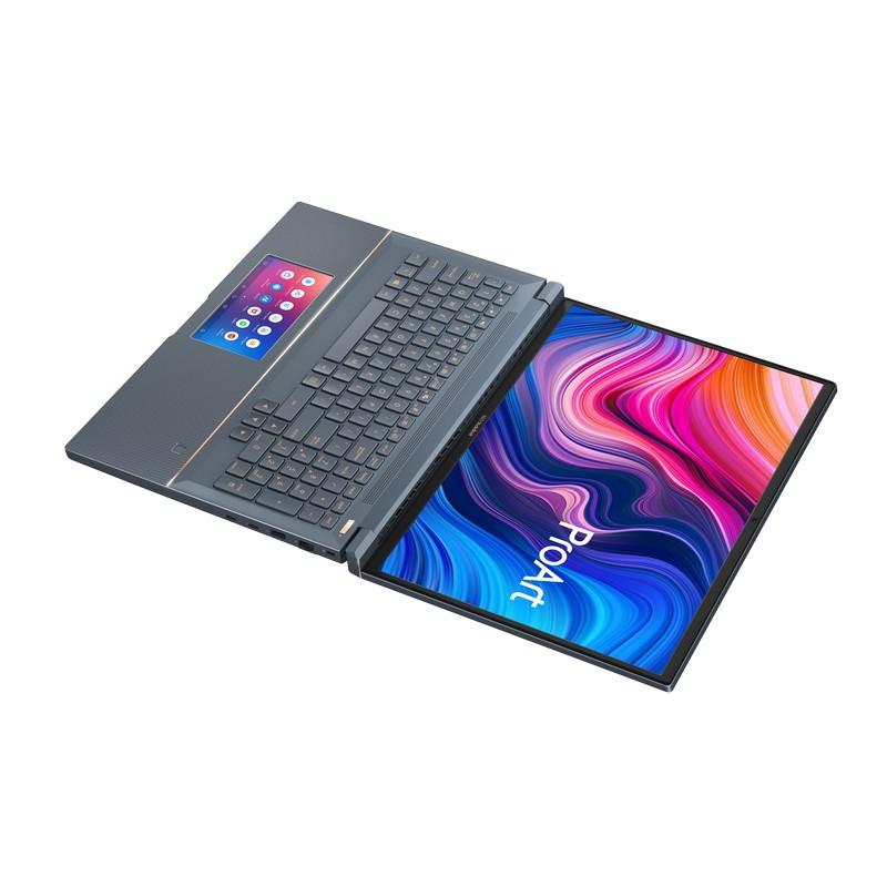 Крышку ноутбука можно раскрывать на 180°