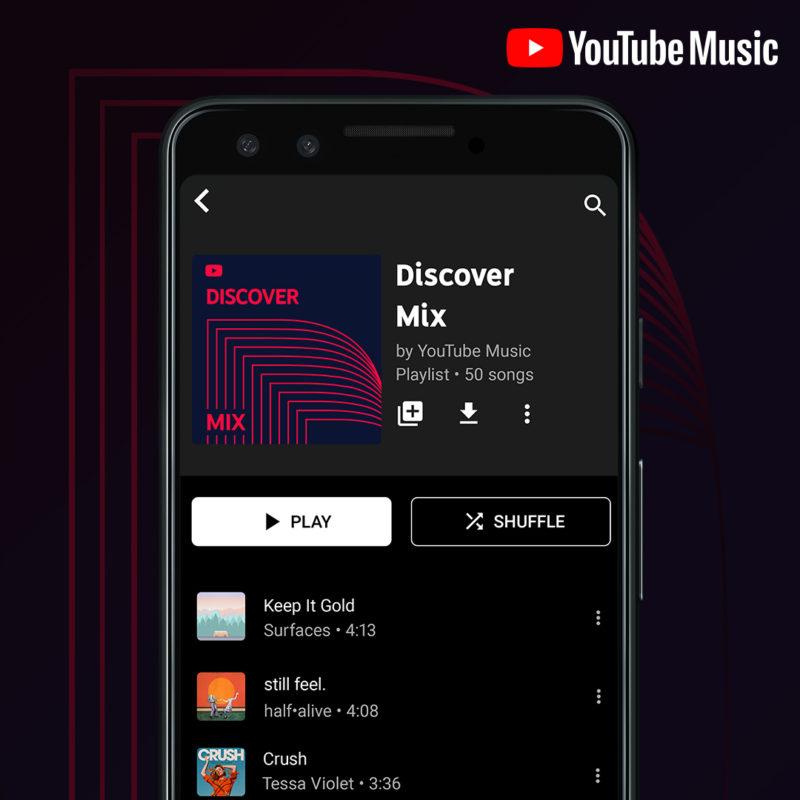 В YouTube Music искать новую музыку будет проще