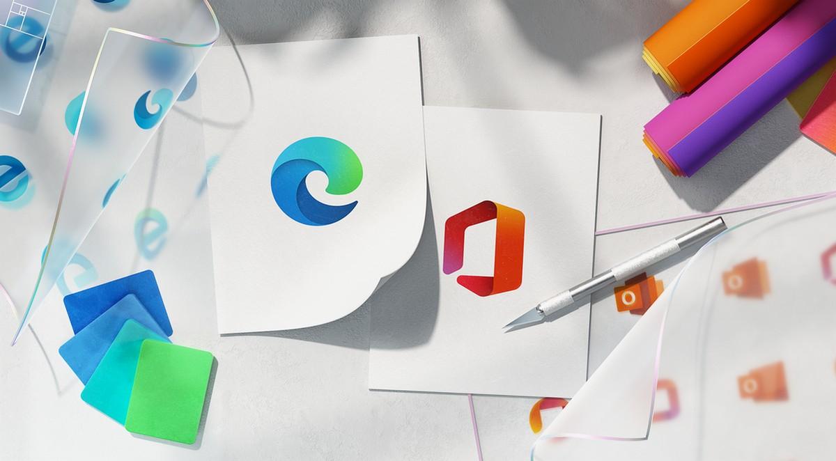 Microsoft уже обновила логотипы браузера Edge и пакета приложений Office