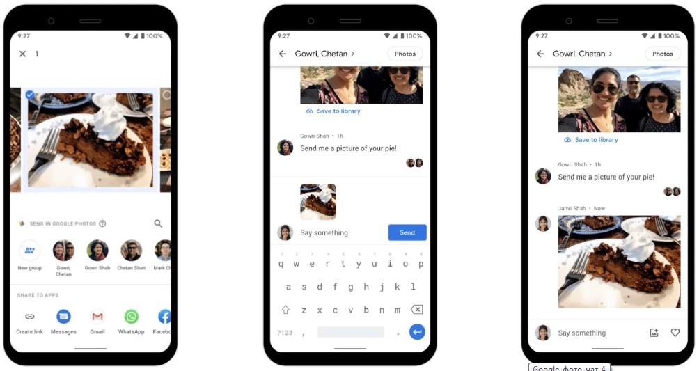 Google представила новый мессенджер на основе Google Photo