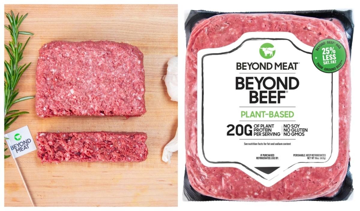 15 декабря бургерные котлеты и колбаски Beyond Meat начнут продаваться в сетях «Эко-Лавка», «VEGETUS» и в магазине Мястория в киевском ЦУМе