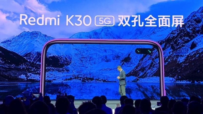Redmi представила смартфон Redmi K30