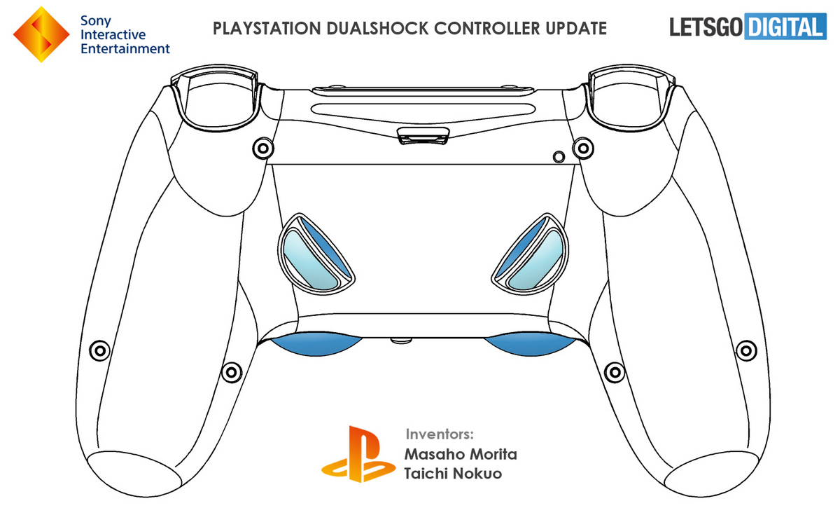 На геймпаде Dualshock 5 появятся новые клавиши