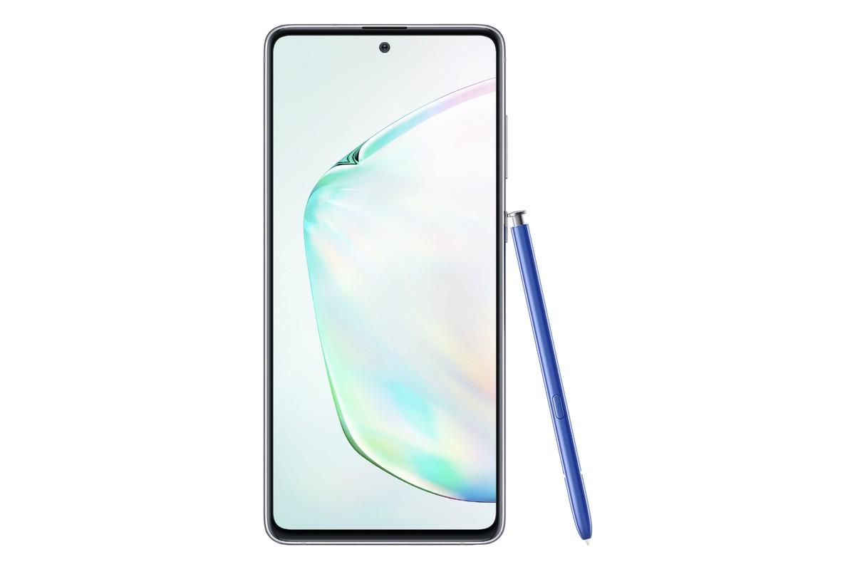 Внешне Galaxy Note 10 Lite практически идентичен Galaxy S10 Lite