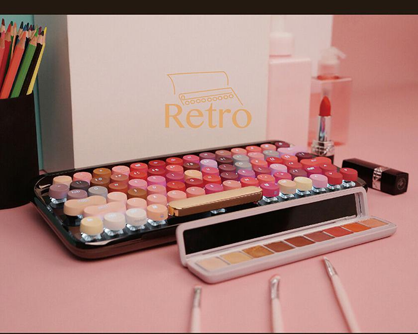 Xiaomi выпустила Bluetooth-клавиатуру в цветах губной помады