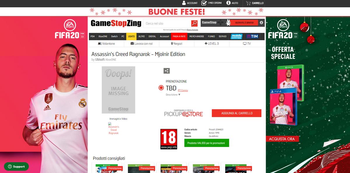 В сети появилось подтверждение разработки скандинавской Assassin's Creed