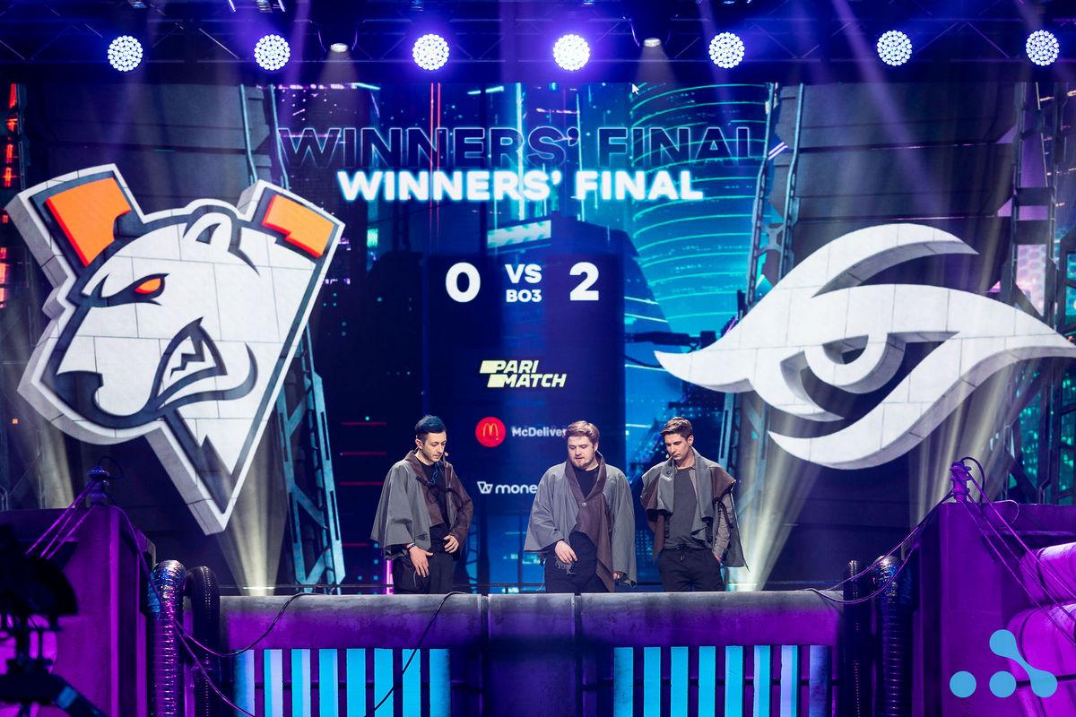 В финале нижней сетки Team Nigma обыграли Virtus.pro со счетом 2:0