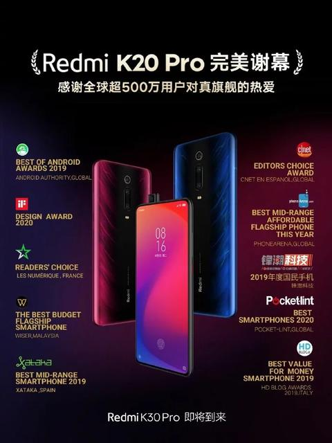 Компания прекратила продажиRedmi K20 Pro