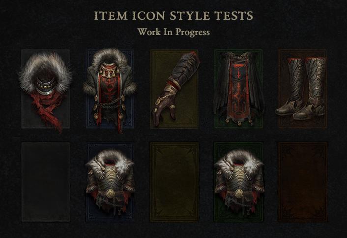 Новые иконки предметов