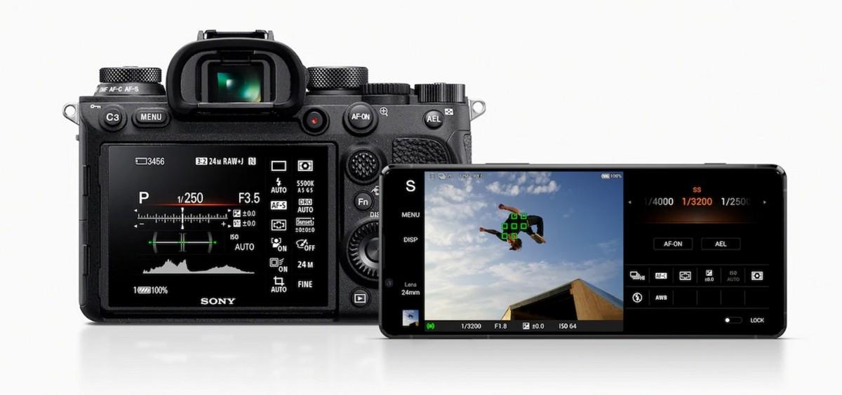 Интерфейс, как у профессиональной камеры