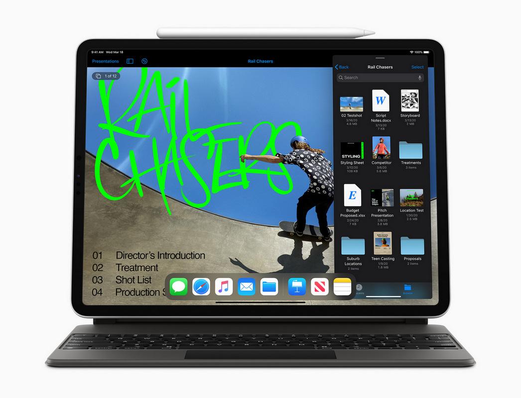 iPad Pro отлично подойдет для создателей контента