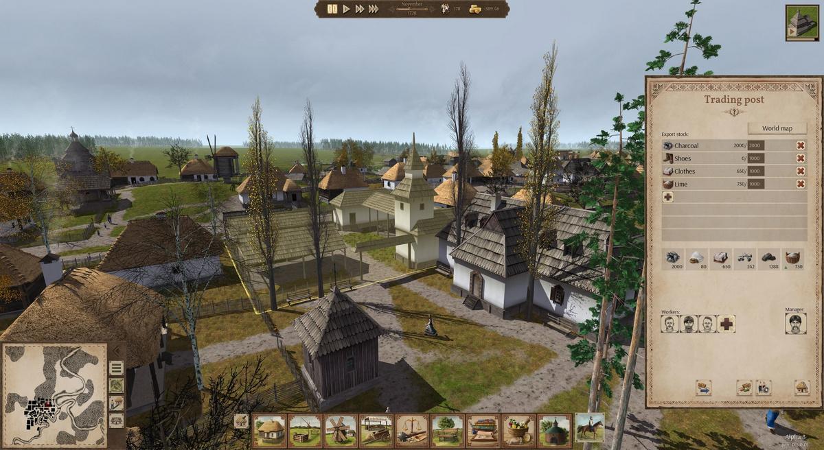 Украинская градостроительная стратегия «Остров» появилась в Steam и GOG