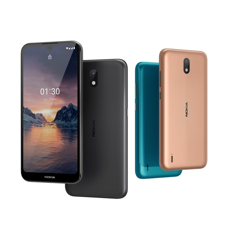 Бюджетный смартфон Nokia 1.3 выходит на украинский рынок