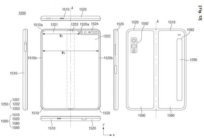 В сети появилась информация о смартфоне Samsung Galaxy Fold Lite