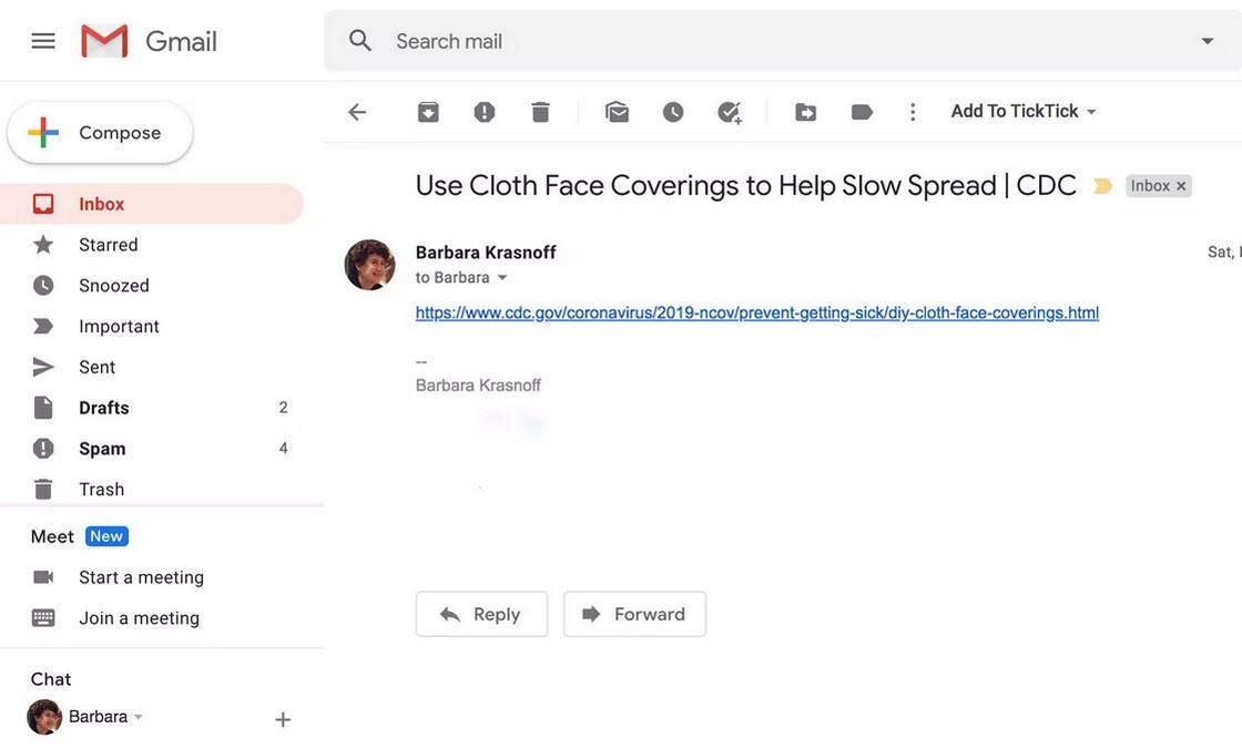 Компания интегрировала функцию создания видеовызова прямо в клиент Gmail