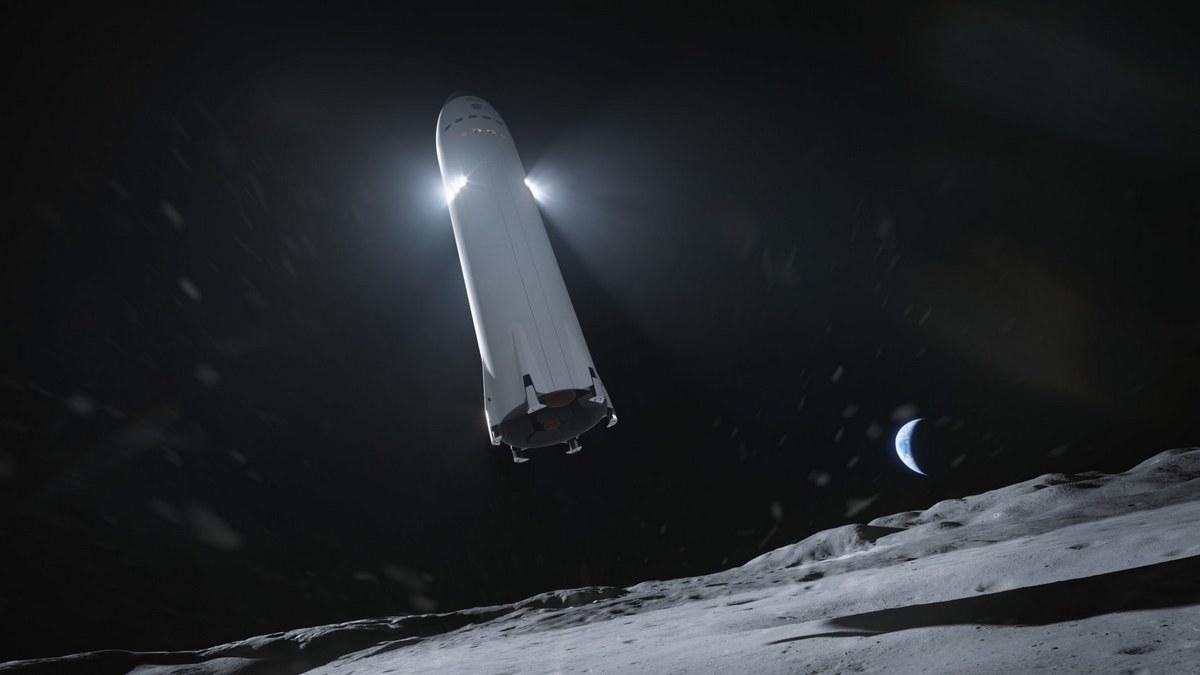 Концепт компании SpaceX