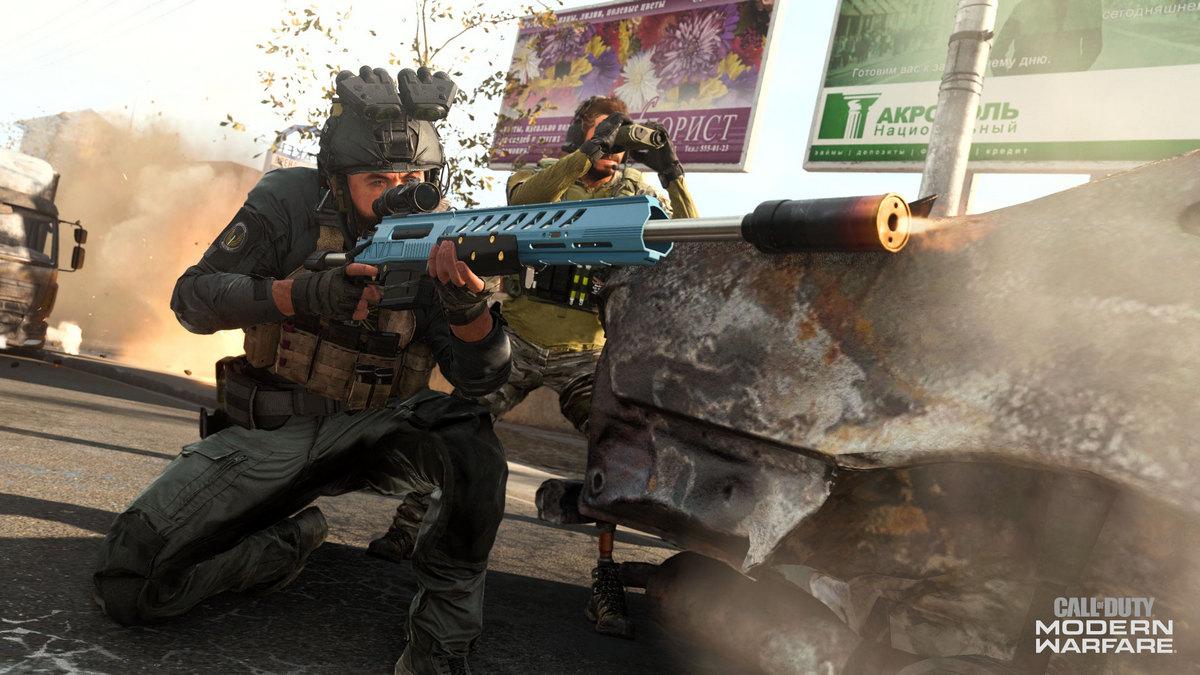 Новая снайперская винтовка