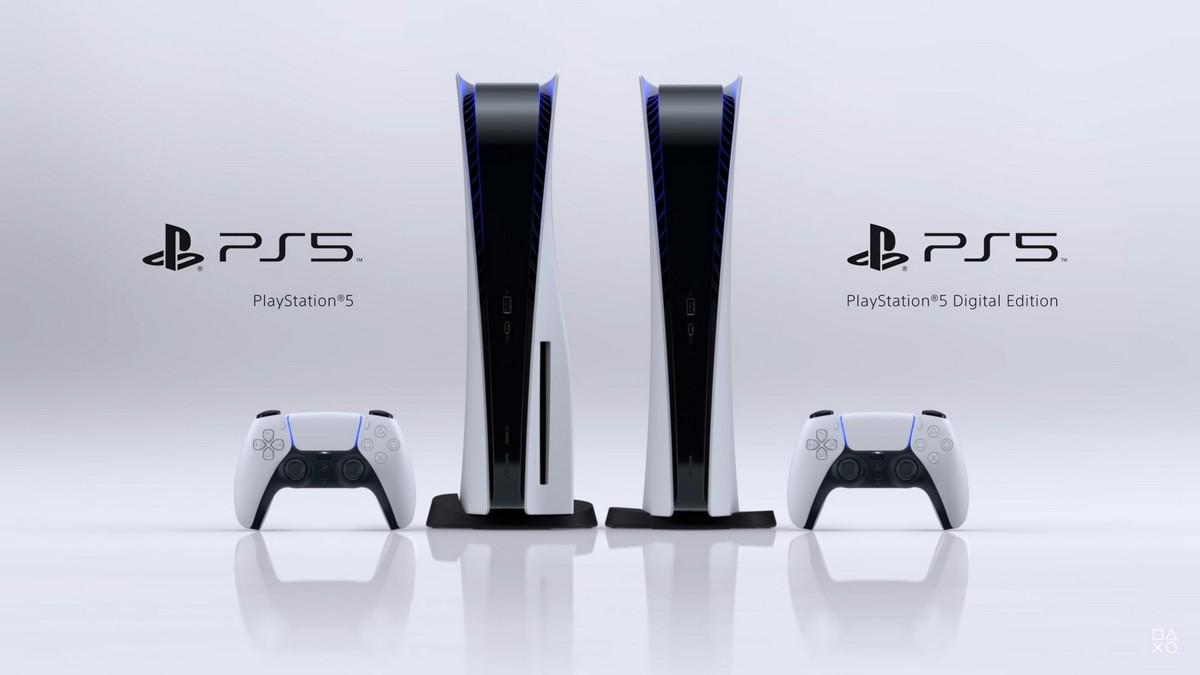Sony показала дизайн PlayStation 5 иPlayStation 5 Digital Edition