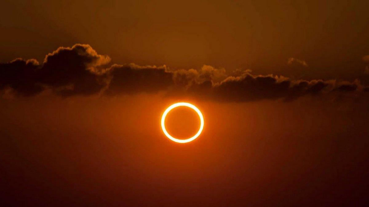 Где смотреть онлайн кольцеобразное солнечное затмение | Информатор ...