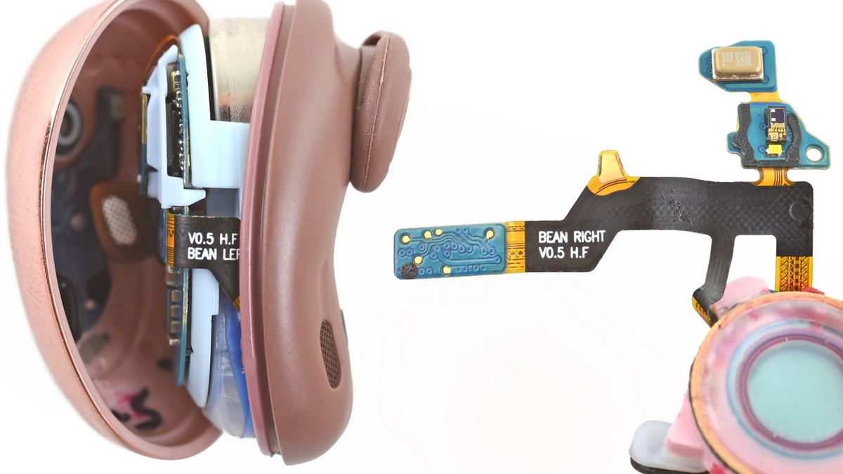 Специалисты iFixit разобрали наушники Samsung Galaxy Buds Live