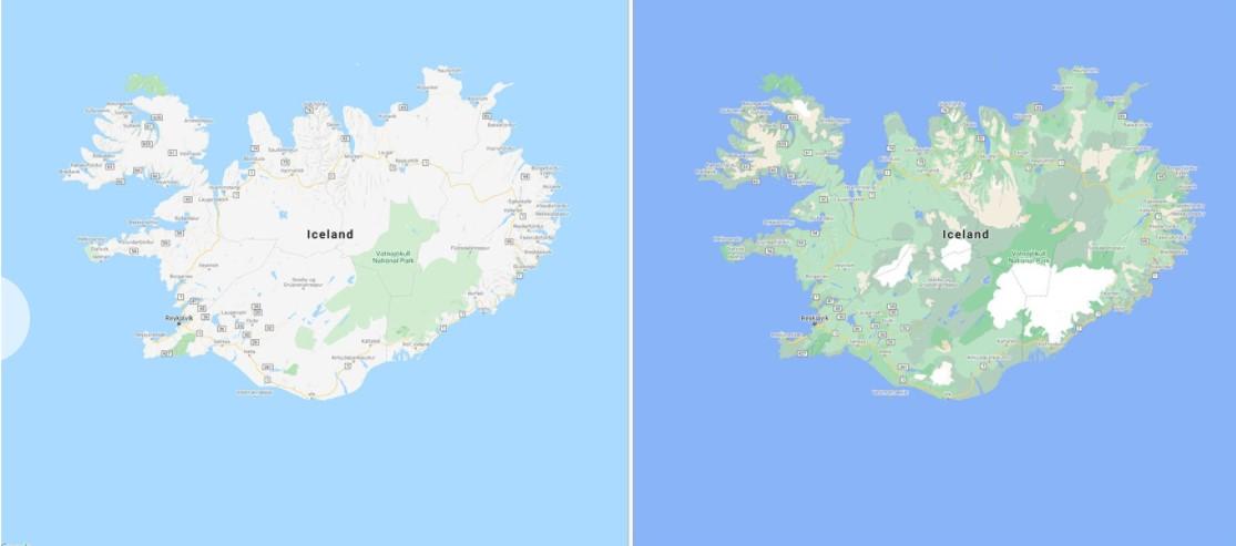 В Google Maps появятся новые цвета карт и более детализированные улицы