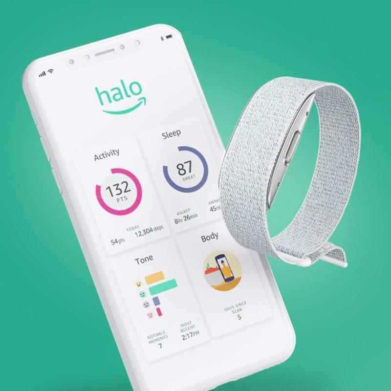 Amazon представила фитнес-браслет Amazon Halo Band