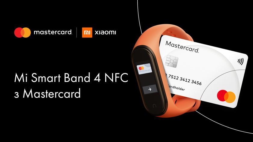 Xiaomi представила в Украине браслет Mi Smart Band 4 с модулем NFC для бесконтактных платежей