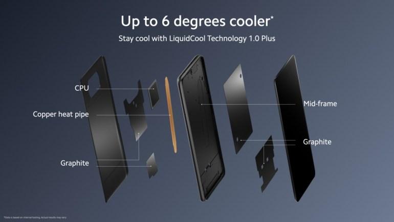 Отдельно производитель выделяет систему охлаждения LiquidCool Technology 1.0 Plus