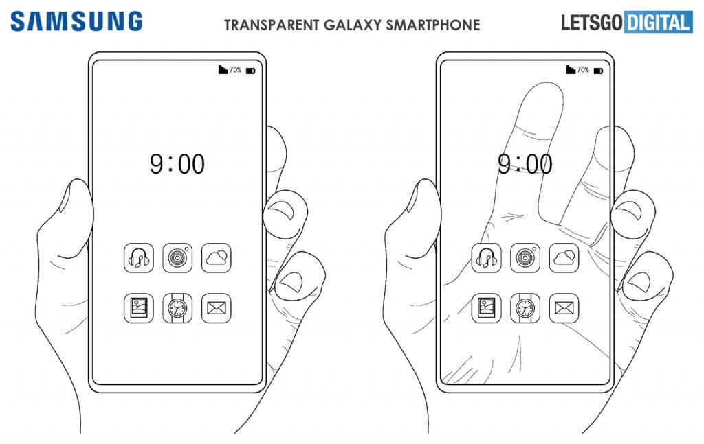 Схематические чертежи Samsung