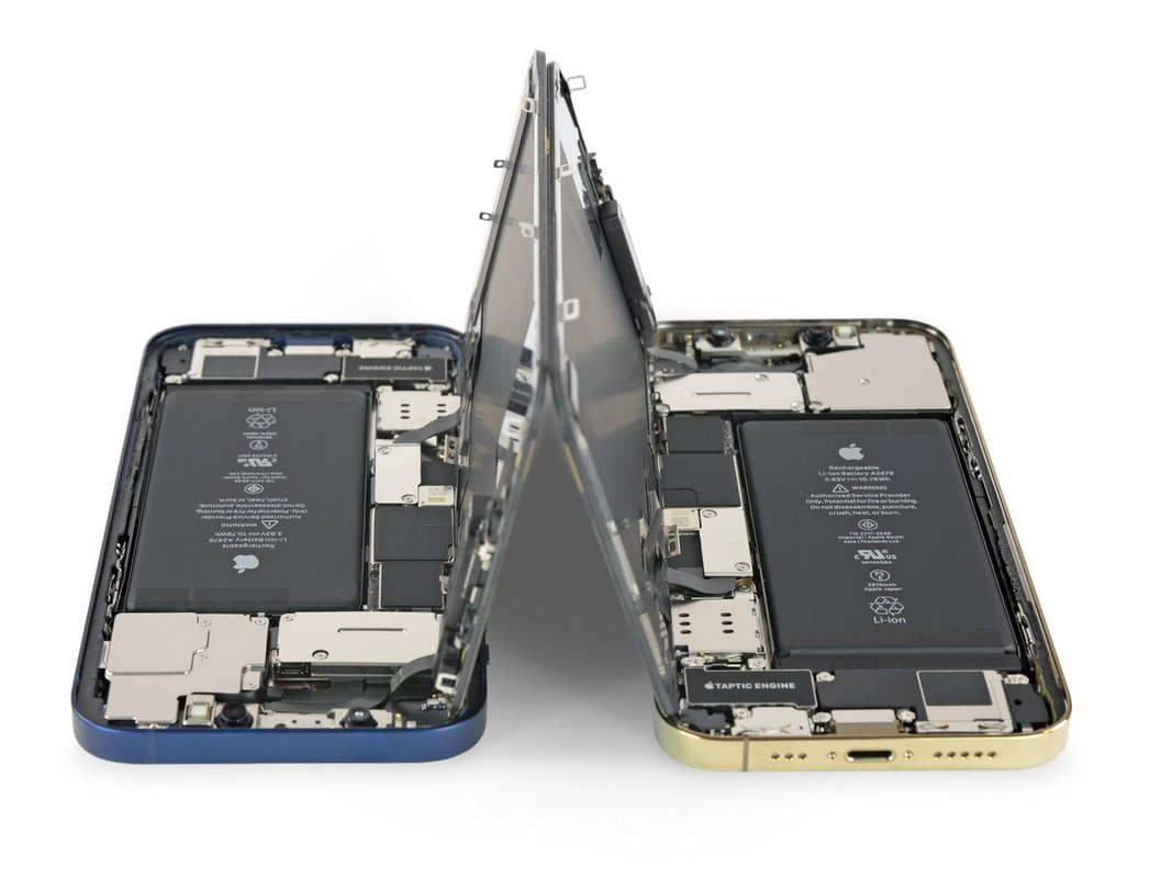 Специалисты iFixit оценили ремонтопригодность смартфонов iPhone 12 и iPhone 12 Pro