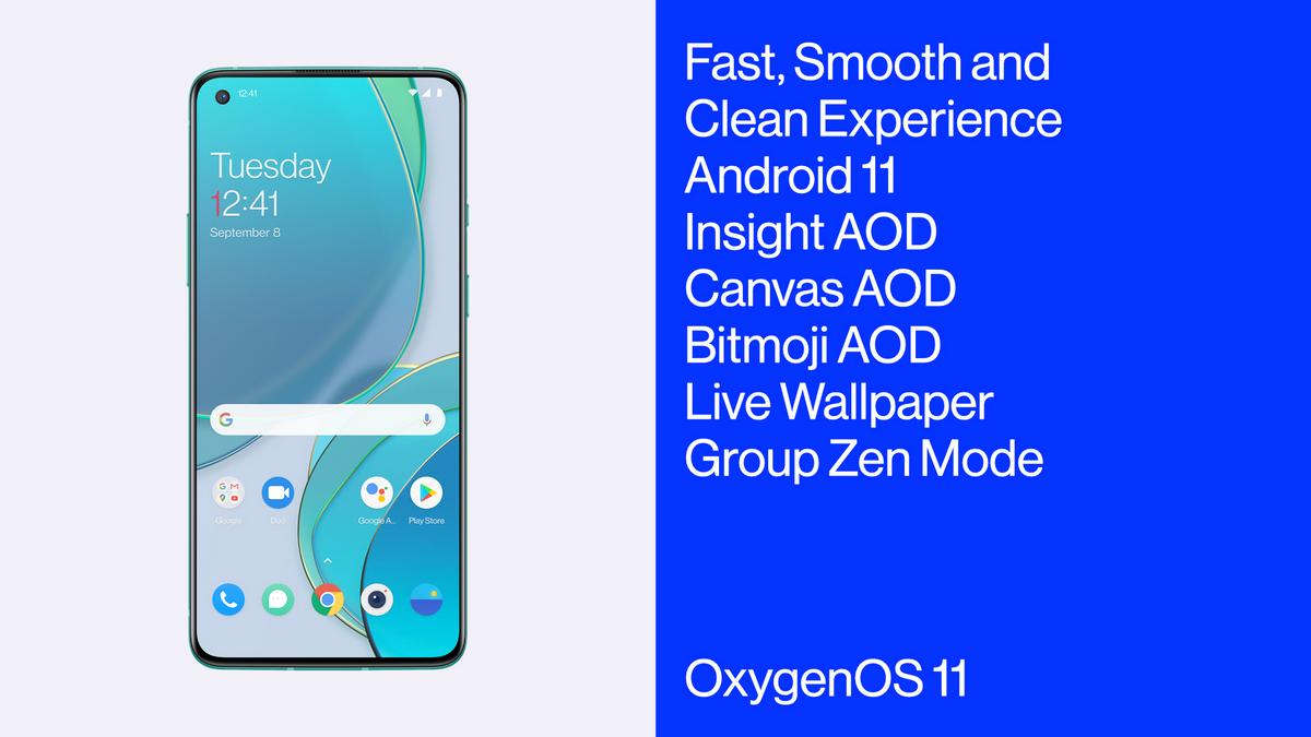 OnePlus 8T—один изпервых смартфонов, который«изкоробки»получит Android 11