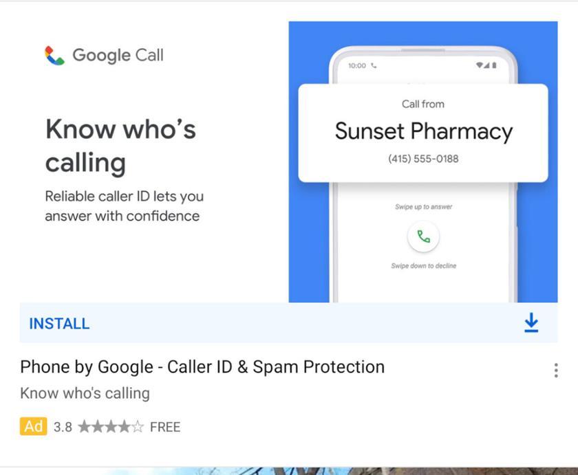 Google проведет ребрендинг приложения Google Phone