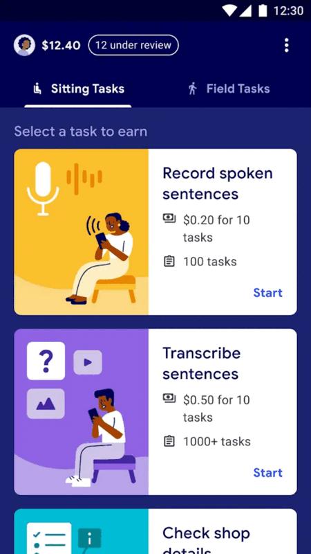 Google тестирует приложение Task Mate, в котором можно получать деньги за выполненные задания