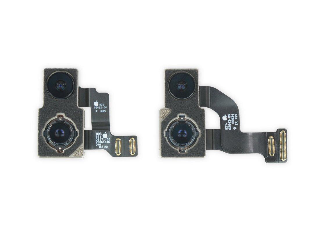 Cохранив два датчика основной камеры, Apple уменьшила площадь соединительных элементов ее модуля, а вибромотор Taptic Engine потерял в объеме целых 25% на фоне iPhone 12 и 12 Pro