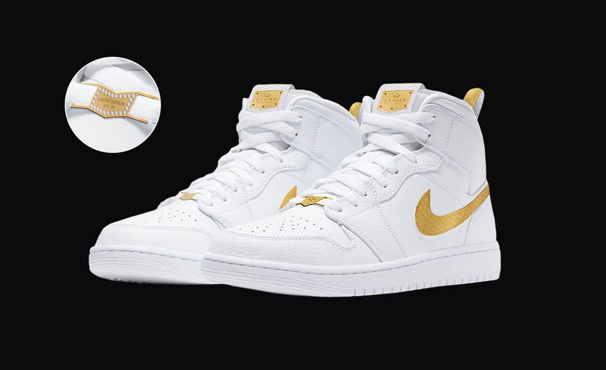 Также в следующем году увидит свет золотой кастом легендарных кроссовок Nike Air Jordan