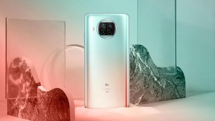 Вотличие отдругих представителей семейства, которые работают наSnapdragon 865, Xiaomi Mi10i оснащен процессором Snapdragon 750G споддержкой 5G
