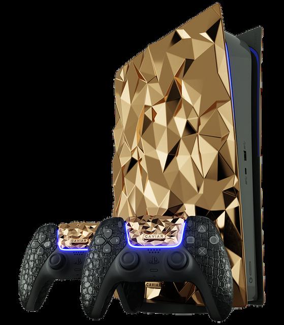 Пожалуй, самой дорогой получилась специальная версия игровой консолиPlayStation 5, которую назвали Golden Rock