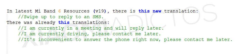 В Xiaomi Mi Band 6 появится возможность отвечать на сообщения в WhatsApp, Telegram и Viber